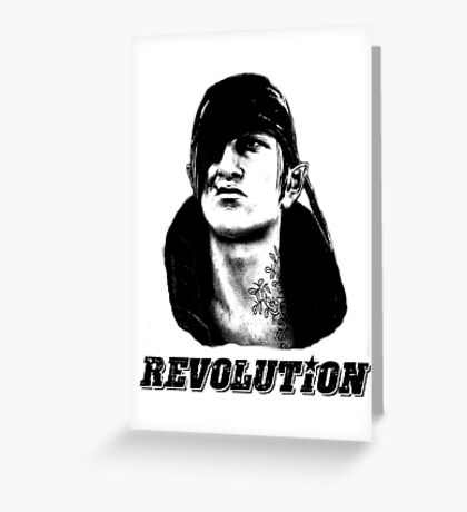 Che Iorveth - Viva la Scoia'tel Revolution! Greeting Card