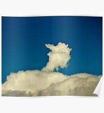 Big Bird Cloud Poster