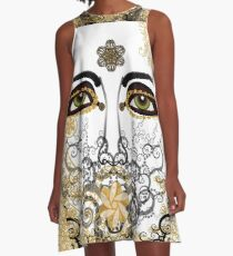 Eyes of Time A-Line Dress