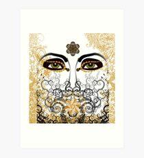 Eyes of Time Art Print