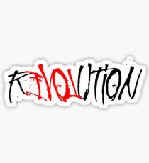 Revolution love Sticker