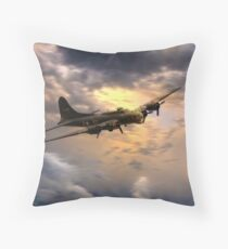 B17 Art  Throw Pillow