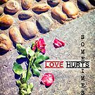 Love hurts sometimes by Silvia Ganora