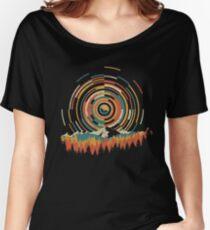 Die Geometrie von Sonnenaufgang Loose Fit T-Shirt