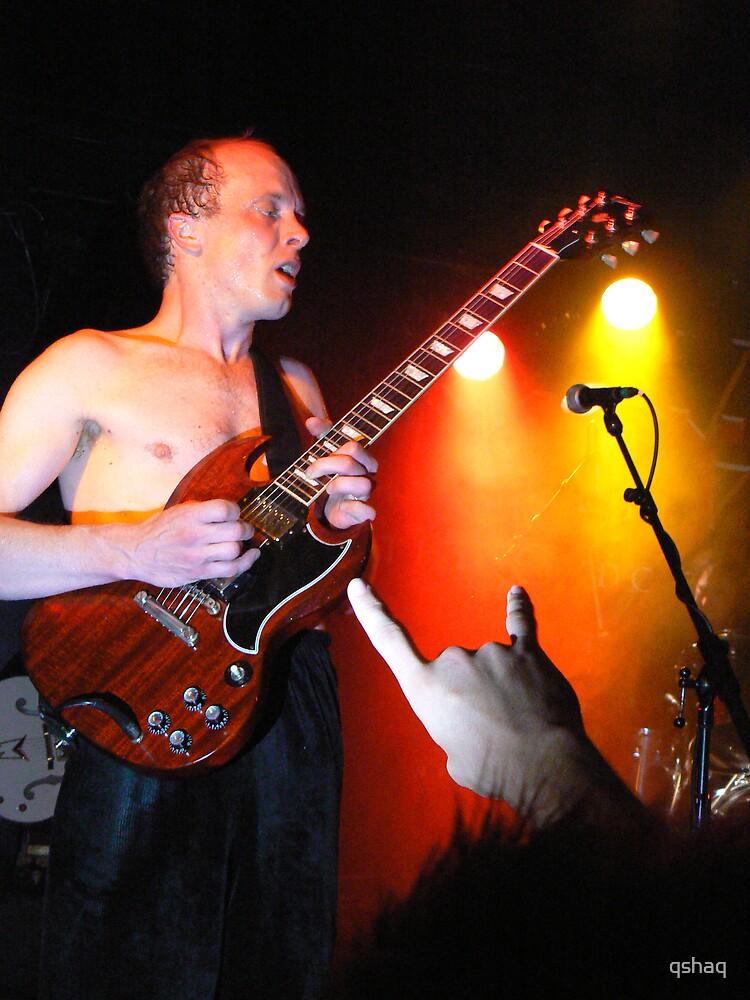 Dirty DC AC/DC Tribute Guitar Player Angus by qshaq