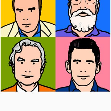 Four Horsemen 2013 - Hitchens, Dennett, Dawkins & Harris by neildavies1