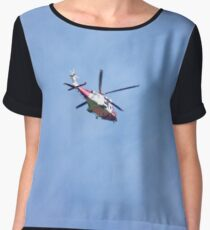 Helicopter Chiffon Top