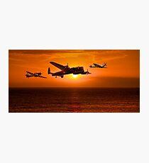 The Battle of Britain Memorial Flight (RAFBBMF) Photographic Print