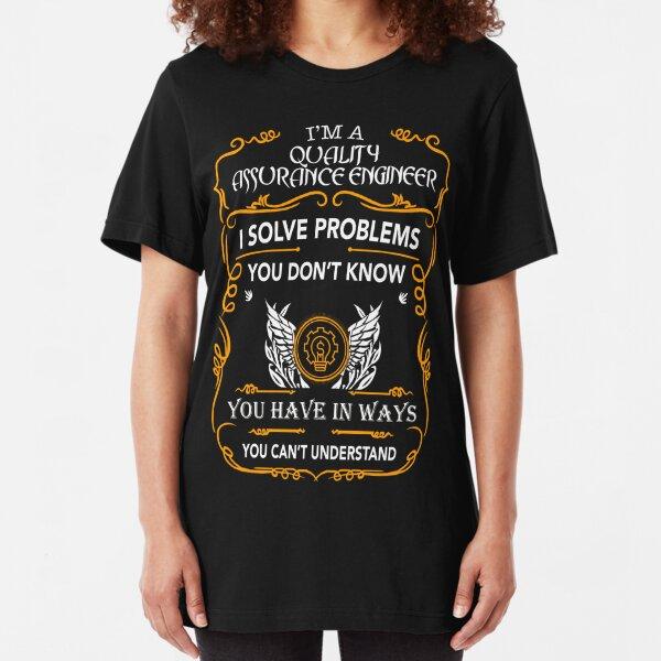 QUALITY ASSURANCE ENGINEER Slim Fit T-Shirt