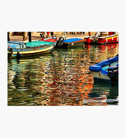 Colors of Murano Photographic Print