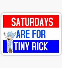TINY RICK Sticker