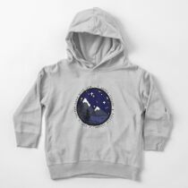 I Wanna Linger Nature Silhouette (Lighter Version)  Toddler Pullover Hoodie