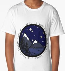 I Wanna Linger Nature Silhouette (Lighter Version)  Long T-Shirt