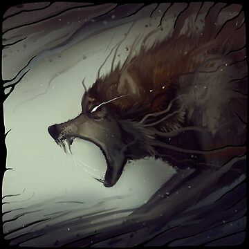 hold, release: wolf by BluValor