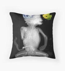 Imagine just a leaf...... Throw Pillow