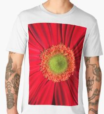 red flower Men's Premium T-Shirt