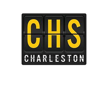 CHS - Charleston Airport Code by albertellenich