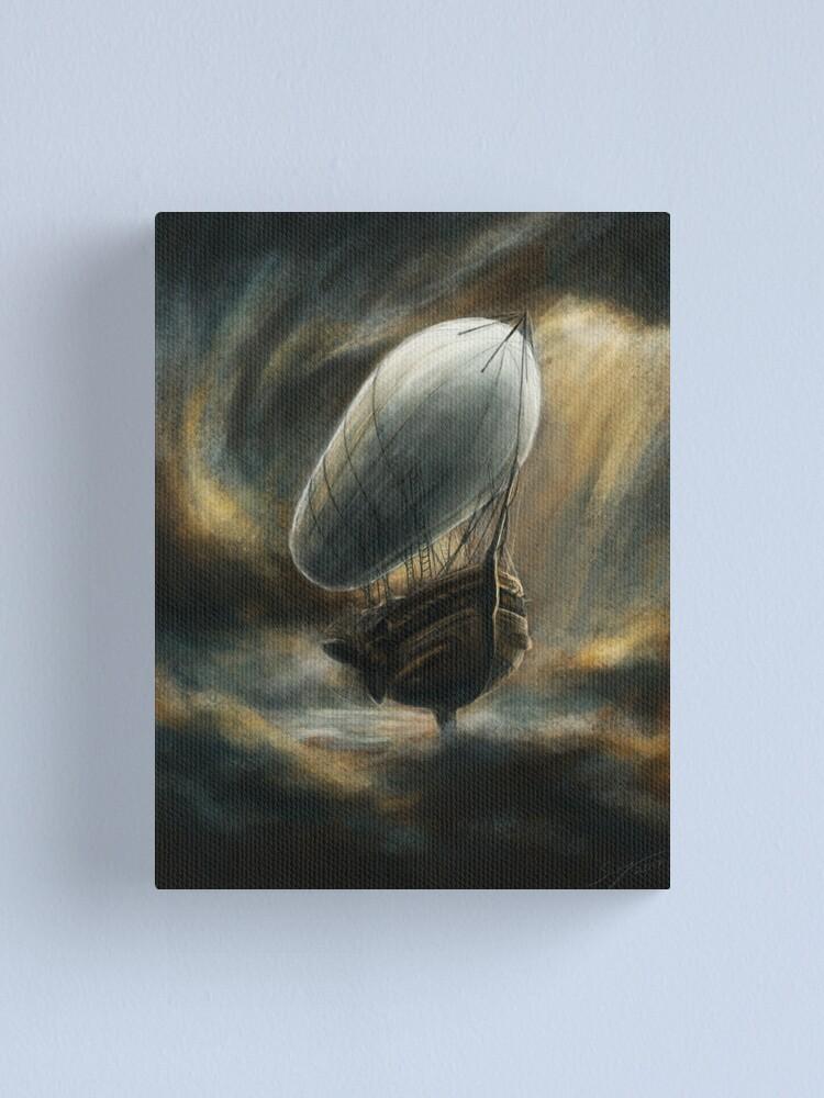Alternate view of Flight to Neverland Canvas Print