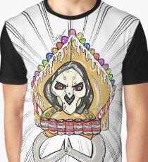 Mercenary's Gingerbread House Graphic T-Shirt
