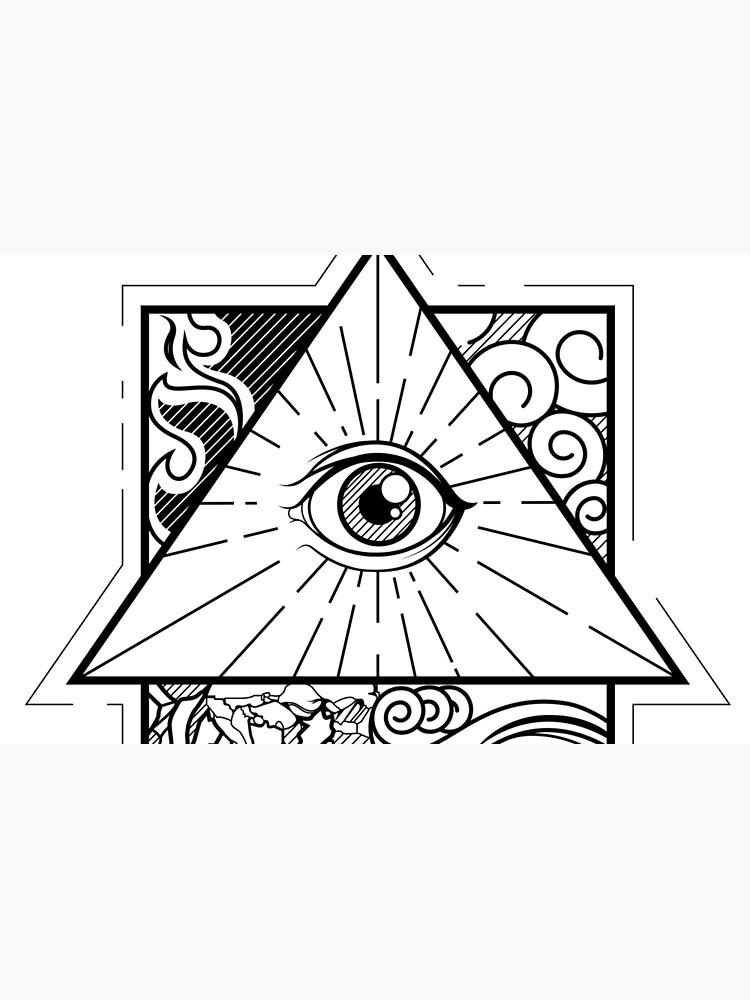 all seeing eye von CheMaik