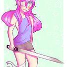 Rad Sword Girl by MistyHeir
