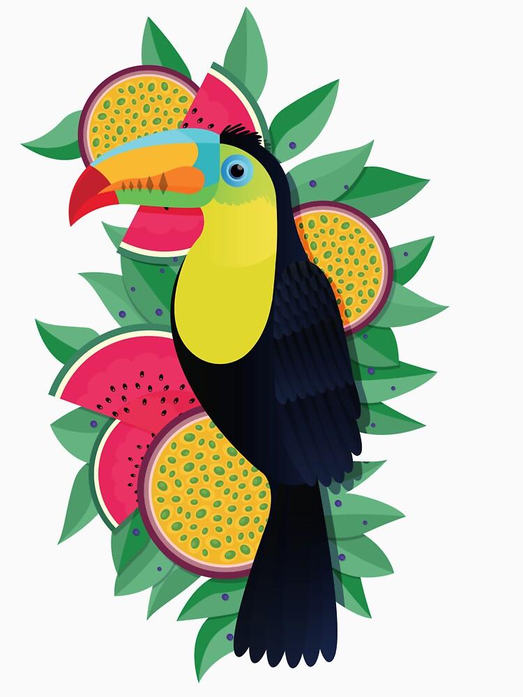 Tropical toucan by jamesboast