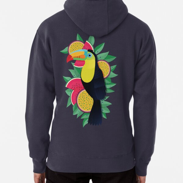 Tropical toucan Pullover Hoodie