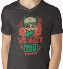 We Want You! Men's V-Neck T-Shirt