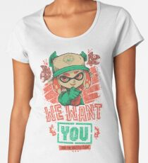 We Want You! Women's Premium T-Shirt