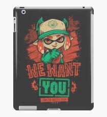 Vinilo o funda para iPad We Want You!