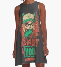 We Want You! A-Line Dress