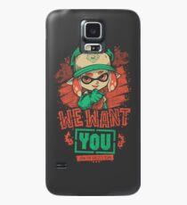 Wir wollen dich! Hülle & Klebefolie für Samsung Galaxy