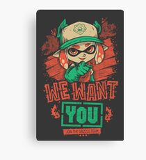 We Want You! Canvas Print