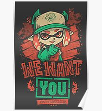 We Want You! Poster