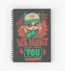 Wir wollen dich! Spiralblock