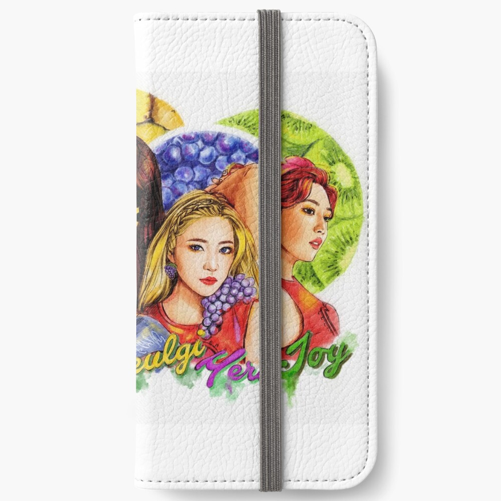 """Roter Samt """"Roter Sommer"""" iPhone Flip-Case"""
