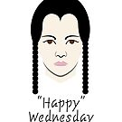 Happy Wednesday Addams by DesigningLife
