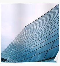 Glass facade Poster