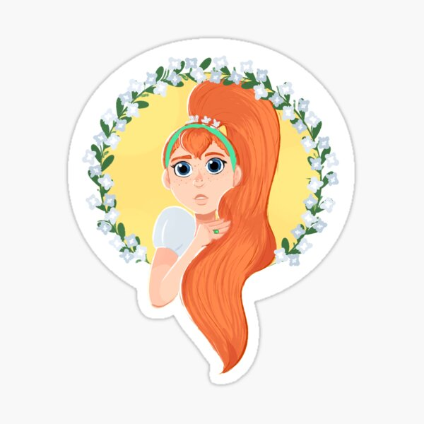 Thumbelina Sticker Sticker