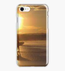 Byron Bay Sunset Surf Australia iPhone Case/Skin
