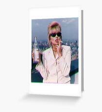 Patsy Stone / Joanna Lumley Greeting Card