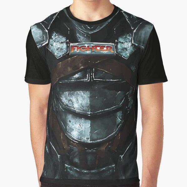 Dungeon Adventurewear: Fighter Graphic T-Shirt
