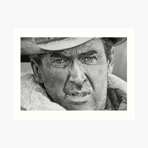 James Stewart Art Print