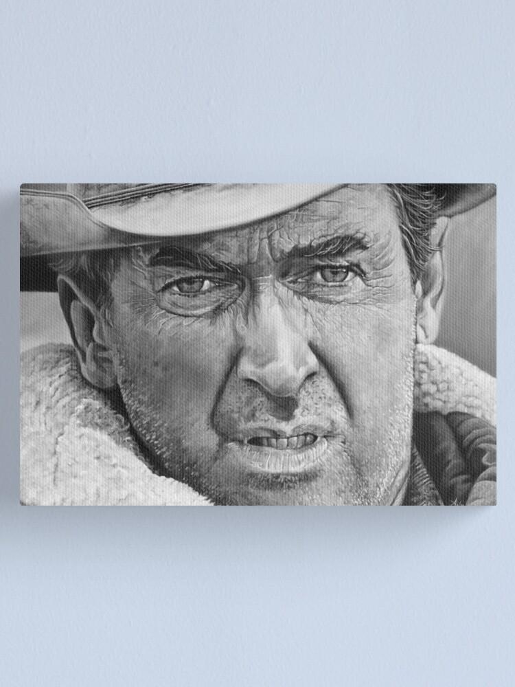 Alternate view of James Stewart Canvas Print