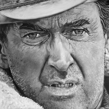 James Stewart by Aart