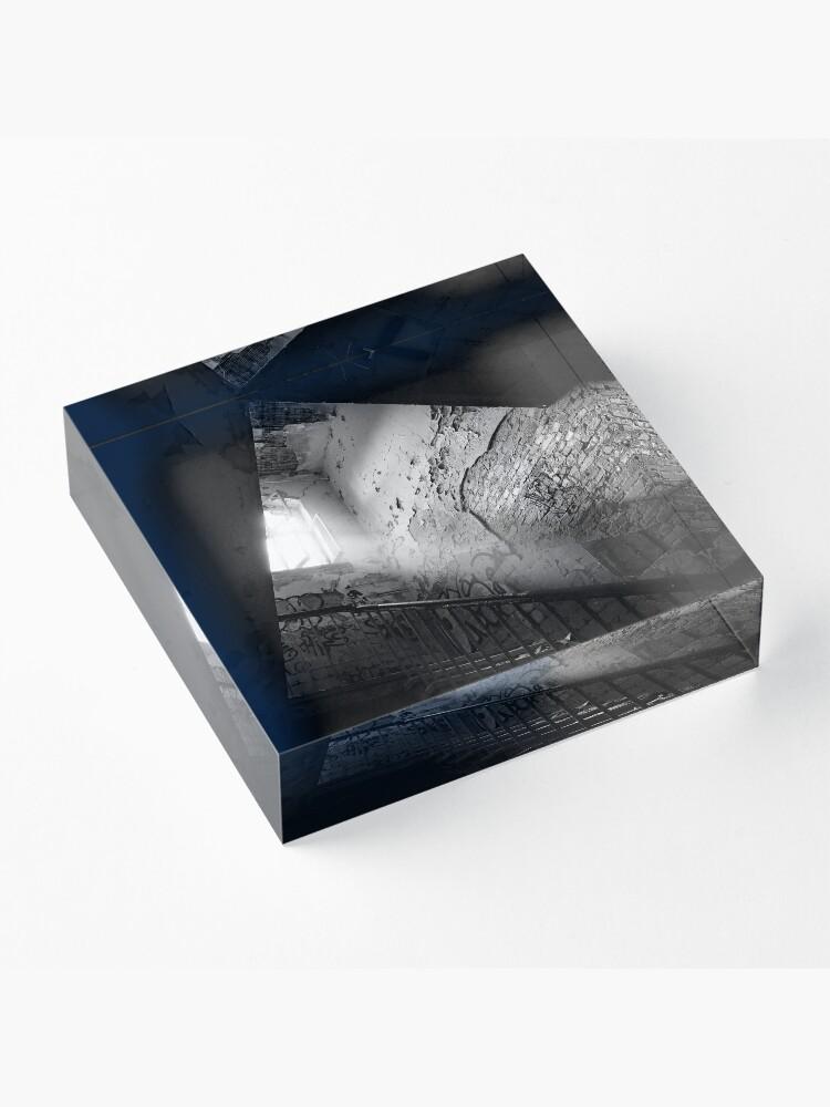 Alternate view of stairwell Acrylic Block
