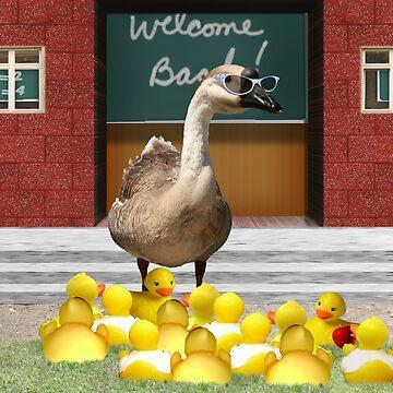 Back to School, my little rubber duckies! by Gravityx9