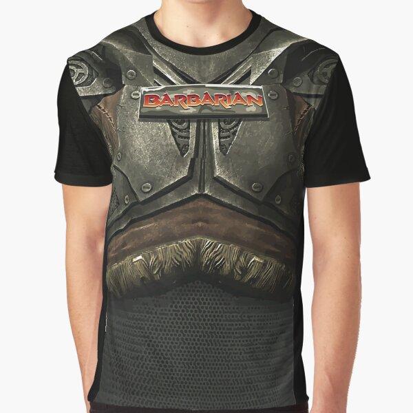 Dungeon Adventurewear: Barbarian Graphic T-Shirt