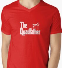 The Quadfather Funny Drone Quadcopter Father's Day T-Shirt T-Shirt