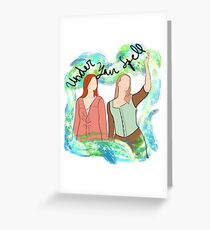 Willow & Tara - Under your spell Greeting Card